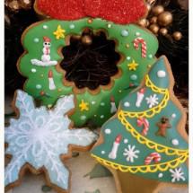 クリスマスの素敵でおしゃれなアイシングクッキー