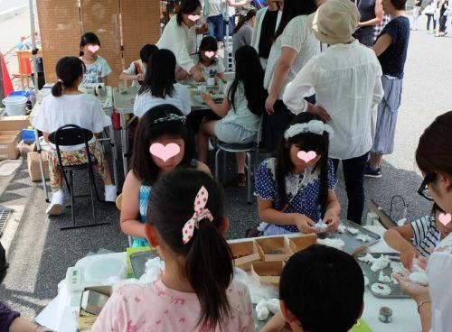 【ガーデンマルシェ:ワークショップはお子様から大人まで楽しめるものいろいろ】