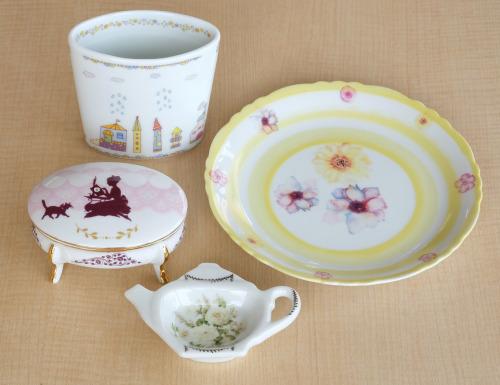 どなたでも簡単に本格的な陶器ができるポーセラーツ