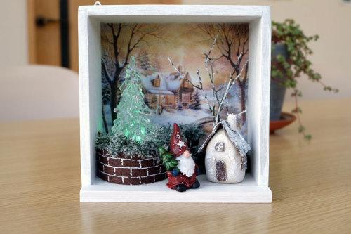 ミニチュアクリスマスボックスのサンプル