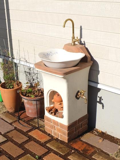 立水栓スタンドウォッシュリリーの写真