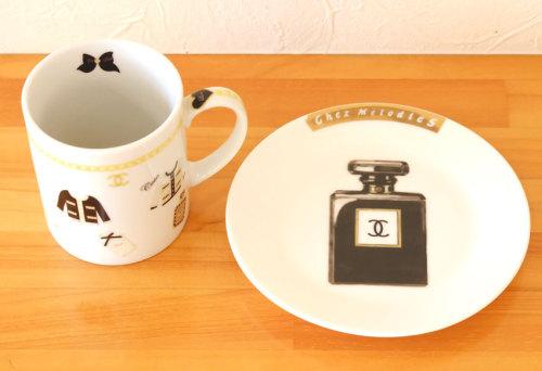 マグカップ、皿