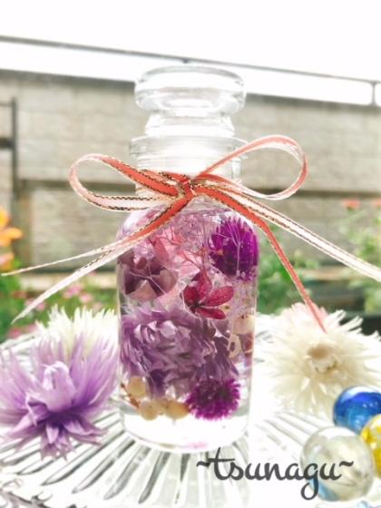 【お花のメディシンボトル】