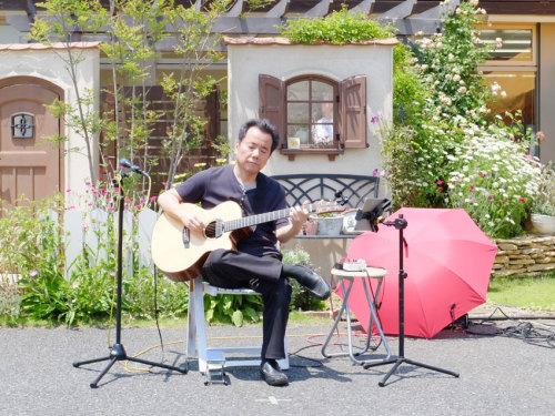 【酒井誠さんのギター演奏】