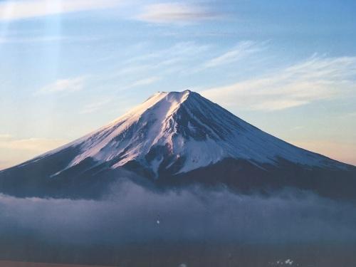 富士山雪景色