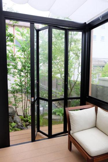 ガーデンルーム「GF」内部の様子