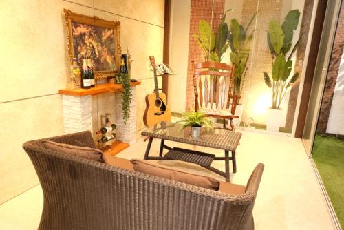ガーデンルーム「オールグラスポーチ」の展示写真