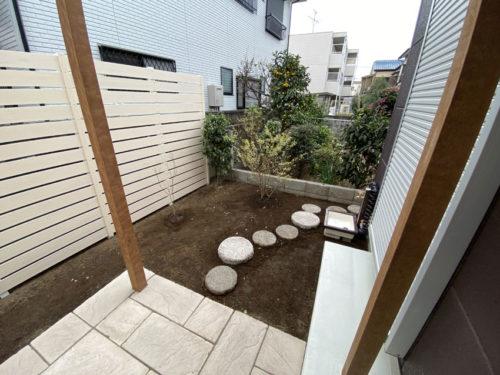 リフォーム後のお庭2